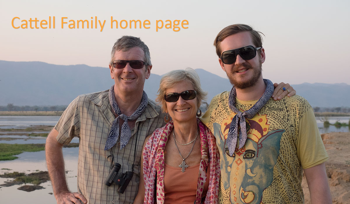 Cattell family home page