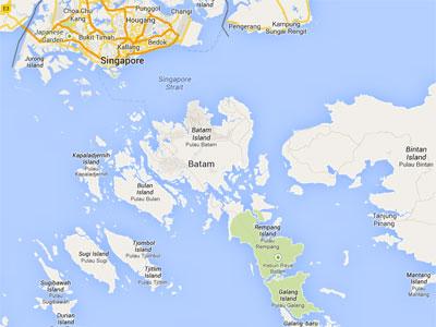 A Singapore Diary Riau Islands